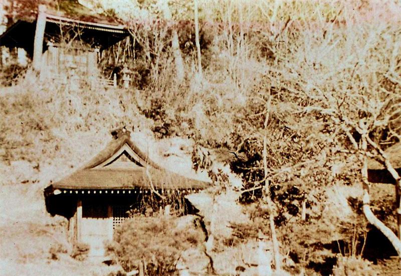 昭和30年頃の妙圓寺境内の様子